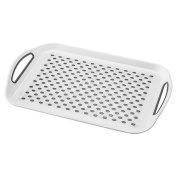Horwood 45 x 32 cm Non-Slip Tray, White