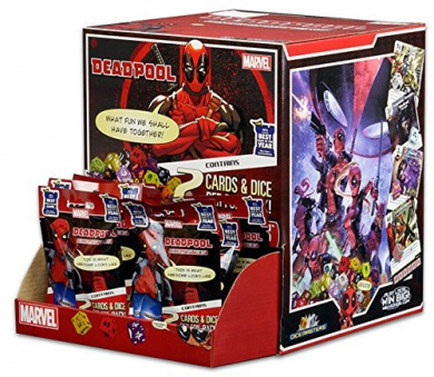 Marvel Dice Masters Deadpool Lot of 10 Unopened Packs Boosters New