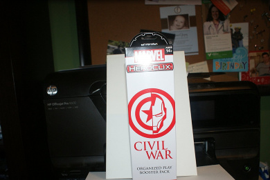 CIVIL WAR HEROCLIX BOOSTER PACK SEALED OP BOOSTER