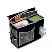BetteresLife 6 Pockets Bedside Storage Organiser Mattress Book Remote Caddy Homewares
