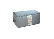Foldable Large Storage Box Bamboo Charcoal Quilt Pouch Clothing Storage Organiser
