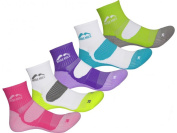 More Mile Womens Limited Edition 5 Pair Pack London Cushioned Running Socks