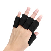 Clode® Finger Guard Support, Stretchy Finger Protector Sleeve, Arthritis Support Sports Aid x10