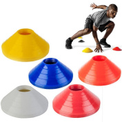 JETTINGBUY 10PCS Soccer Ball Space Markers Cones