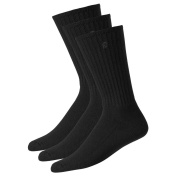 FootJoy Socks 3 Pairs BLACK