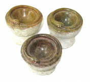 African Snake Incense Burner in Serpentine Stone - Large & Medium sizes Hand Crafted by Shona People of Zimbabwe