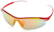 Eassun 08022 X-Light Glasses with Red Frame Clear/Silver