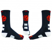 Red Lion Fast Break Basketball Crew Socks