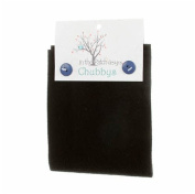 In the Patch Designs Black Chubbys 41cm Square Felted Wool