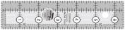 Creative Grids Ruler- 3.8cm x 17cm -CGR1565 by Creative Grids