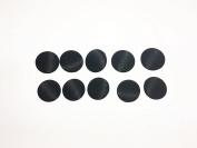 """Swordfish 8156 Tuxedo Suit Buttons10 pcs Sets Black Smooth Satin Size 3/4"""""""