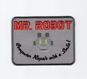 MR ROBOT FSOCIETY TV SHOW Embroidery Patch Halloween costume Badge Easy Iron On