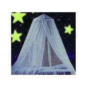 Teen Bedding Glowing Canopy.Loved By Both Adults & Teenagers (Girls/Boys).Fits King,Queen,Full, & Twin Size Beds.
