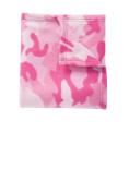 Port Authority Core Printed Fleece Blanket_Pink Camo_OSFA