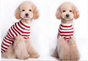 AIMTOPPY Pet Dog Santa Claus Printed Clothes Puppy Winter Sweater Costume Jacket Coat