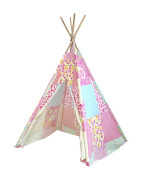 Heritage Kids Play Tent, Floral Patchwork
