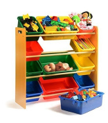 Home-it Toy organiser with bins you get Toy Storage Bins with Toy Organiser, toy storage solutions, toy organisers for kids rooms