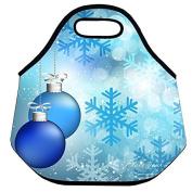 Estrellaw Merry Christmas Decoration Bell Lunch Bag