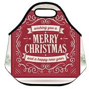 Estrellaw Wishing You A Merry Christmas Lunch Bag