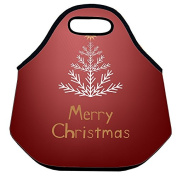 Estrellaw Merry Christmas Tree In White Lunch Bag