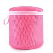 LEERYA Women Bra Laundry Lingerie Washing Hosiery Saver Protect Mesh Round Bag