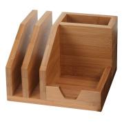 Bamboo Desktop Organiser Tray