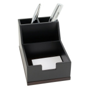 Two Toned Executive Wooden Pen and Paper Pad Holder
