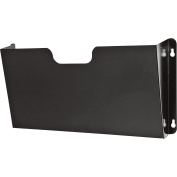 Buddy Products Wall Pocket, Steel, Legal Size, Black