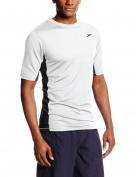 Speedo Men's UPF 50+ Longview Short-Sleeve Rashguard Swim T-Shirt
