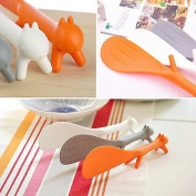 Charmed Plastic Squirrel Shaped Non Stick Rice Paddle Spoon