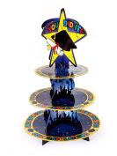 Forum Novelties 3- Tier Graduation Party Cupcake Stand