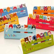 Toyofmine Funny Animals Sticker Post-it Bookmark Marker Memo Flags Index Tab Sticky Notes