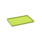 Poppin Medium Slim Tray - Lime Green