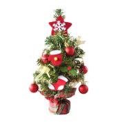 Alonea Mini Christmas Tree Stick Colour decoration Desktop Small Christmas Tree