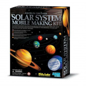 Glow In The Dark Kids Educational Solar System Mobile Science Project Toy New Plaything