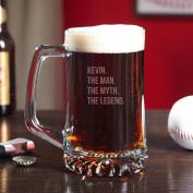 The Man The Myth The Legend Custom Beer Mug