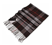 Weibestshop Women Blanket Comfortable Warm Oversized Tartan Scarf Wrap Shawl Plaid Cosy Checked Pashmina