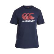 Canterbury Men's Ccc Logo Tee-Black/Red/White, Large