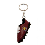 West Ham United F.C. Boot Keyring Official Merchandise
