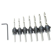 GoldenTrading 22Pc Tapered Drill & Countersink Bit Screw Set Wood Pilot Hole For Wood in