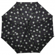 Umbrella for Travel Easy Carrying Windproof Manually Foldable Rain Umbrella Anti-UV Umbrella-A5
