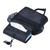 Funbase Car Back Seat Organiser Travel Insulated Cooler Storage Bag Tissue Drinks Holder