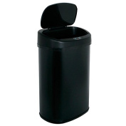 49.2l Touch Free Sensor Automatic Touchless Trash Can Black