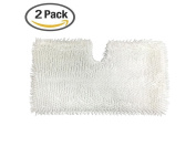 2pcs Anewise Pads for Shark Steam Replacement Pocket Mops S3500 series, S3601 S3550 S3901 Microfiber Pads Cleaning Pad
