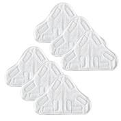 Eshoppercity - 6pc set H2O Steam Mop X5 Pads H2O Compatible Replacement Pads Washable x 6pcs