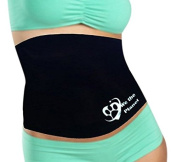 We The Planet the Deluxe Waist Trimmer & Slimming Belly Wrap in the World, Creates Thermogenic Effect for Weight Loss, Provides Lumbar Compression & Support