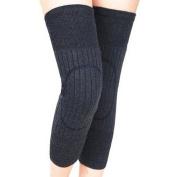 Unisex Cashmere Wool Knee Brace Pads Winter Warm Thermal Knee Warmers Sleeve for Women Men