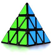 Pyramid Cube, Olicity Speed Pyraminx Puzzle Cube, Black