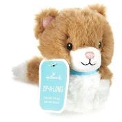 Zip-Along Cat Stuffed Animal Interactive Stuffed Animals