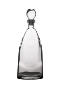 PrestoWare 5009, 500ml Old Fashioned Wine, Liquor and Whiskey Glass Decanter, Whiskey/Brandy Carafe with Glass Stopper